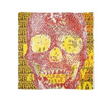 pixilated skull 002 by #RootCat Scarf