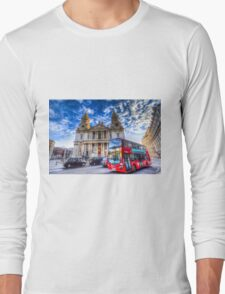 St Paul's Cathedral London Long Sleeve T-Shirt
