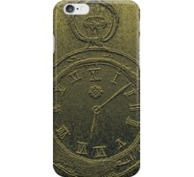 Ancient Pocket Watch iPhone Case/Skin