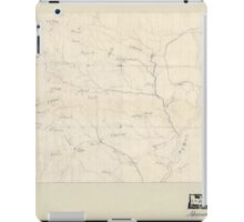 Civil War Maps 2076 Map of the Big Black River Mississippi in the vicinity of Bush and Birdsong's ferries 1863 iPad Case/Skin
