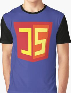 JS Supercoder - Superman Parody for JavaScript Programmers Graphic T-Shirt