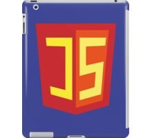 JS Supercoder - Superman Parody for JavaScript Programmers iPad Case/Skin