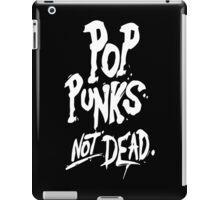 pop punk not dead iPad Case/Skin