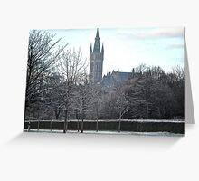 Glasgow University, Scotland Greeting Card