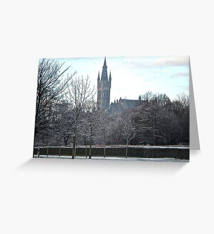 Glasgow University, Scotland Greeting Card