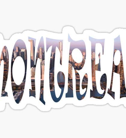 Montreal Sticker