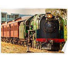 Victor Harbor Cockle Train Poster