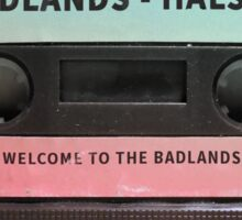 Halsey Badlands Cassette Tape Sticker
