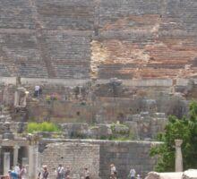 Theatre at Ephesus Sticker