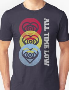 all time low - Future heart 3 color T-Shirt