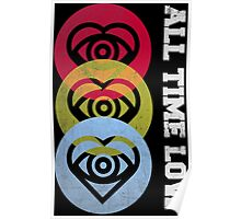 all time low - Future heart 3 color Poster