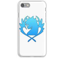 Blue Pegasus iPhone Case/Skin