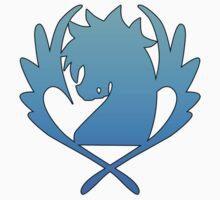 Blue Pegasus One Piece - Short Sleeve