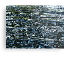 Abstract water Metal Print