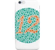 12 - Ishihara Plate iPhone Case/Skin