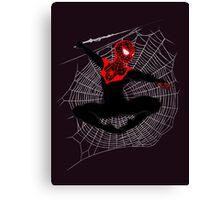 Ultimate Spider-Man IV (Large Variant) Canvas Print