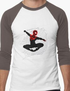 Ultimate Spider-Man IV (Large Variant) Men's Baseball ¾ T-Shirt