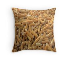 Raw Organic Husked Sweetcorn Throw Pillow