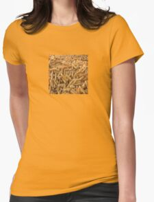 Raw Organic Husked Sweetcorn Womens Fitted T-Shirt
