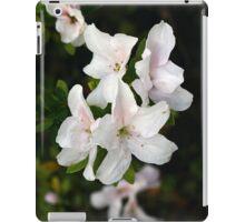 Early Bloom White Azalea iPad Case/Skin