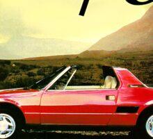 Fiat X1/9 Sticker