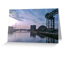 Crossing the Clyde Greeting Card