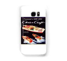 Chris Craft vintage boats Samsung Galaxy Case/Skin