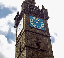 Tolbooth Steeple, Glasgow, Scotland by Ardenslate