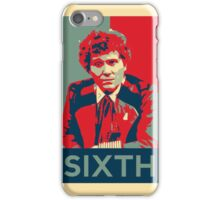 Sixth doctor - Fairey's style iPhone Case/Skin