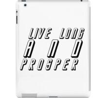Live Long And Prosper iPad Case/Skin