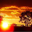 Parwan Sunset by Anne van Alkemade