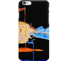 Blue Crab On Black iPhone Case/Skin