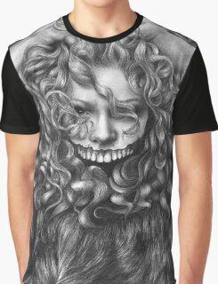 girl, invisible monsters Palahniuk, horror, face, dark, eyes Graphic T-Shirt