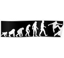 skater evolution Poster