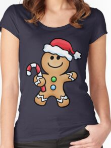 Gingerbread Sweety Women's Fitted Scoop T-Shirt