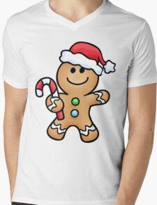 Gingerbread Sweety Mens V-Neck T-Shirt