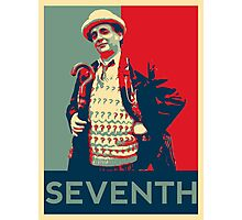 Seventh doctor - Fairey's style Photographic Print