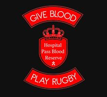 Play Rugby [Blood Donation] Unisex T-Shirt