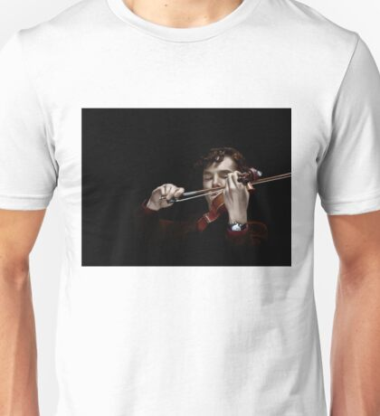 The Violinist Unisex T-Shirt