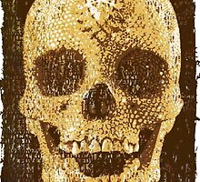 pixilated skull 006 by #RootCat by Grimm Land