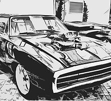 1970 Dodge Charger by benbdprod