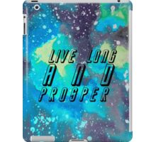 Live Long And Prosper With Background iPad Case/Skin