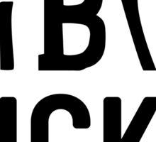 Fibro Sucks Awareness - Be Strong! Sticker