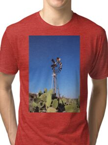 Traditional windmill of gozo  Tri-blend T-Shirt
