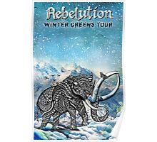 Rebelution Winter Tour 2016 Poster