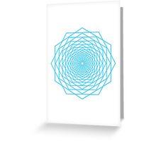 Hexagon Greeting Card