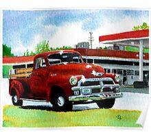 1954 Chevrolet Truck Poster