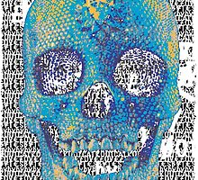 pixilated skull 008 by #RootCat by Grimm Land