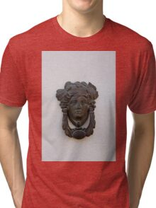 A face to welcome you Tri-blend T-Shirt