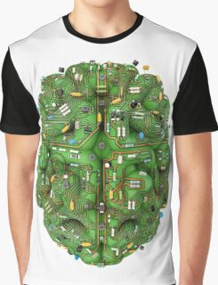 Circuit brain Graphic T-Shirt